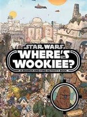 Book-Where's The Wookie Star Wars