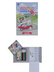 Colouring Set-Piccolo-Cars And Truc