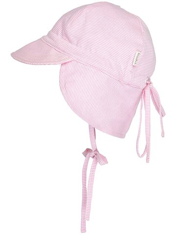Baby Stripe Flap Cap-Do Not Use