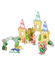 Colour In Mermaid Castle Pop-Out