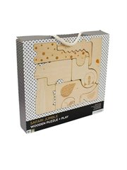 Safari Jungle Wooden Puzzle & Play